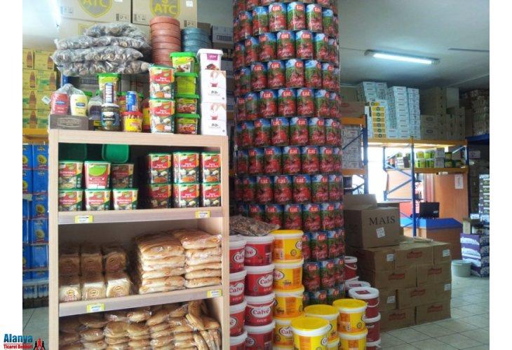 Gıda bugün yiyecek ve içecek sektöründe ithal gıda ürünleri