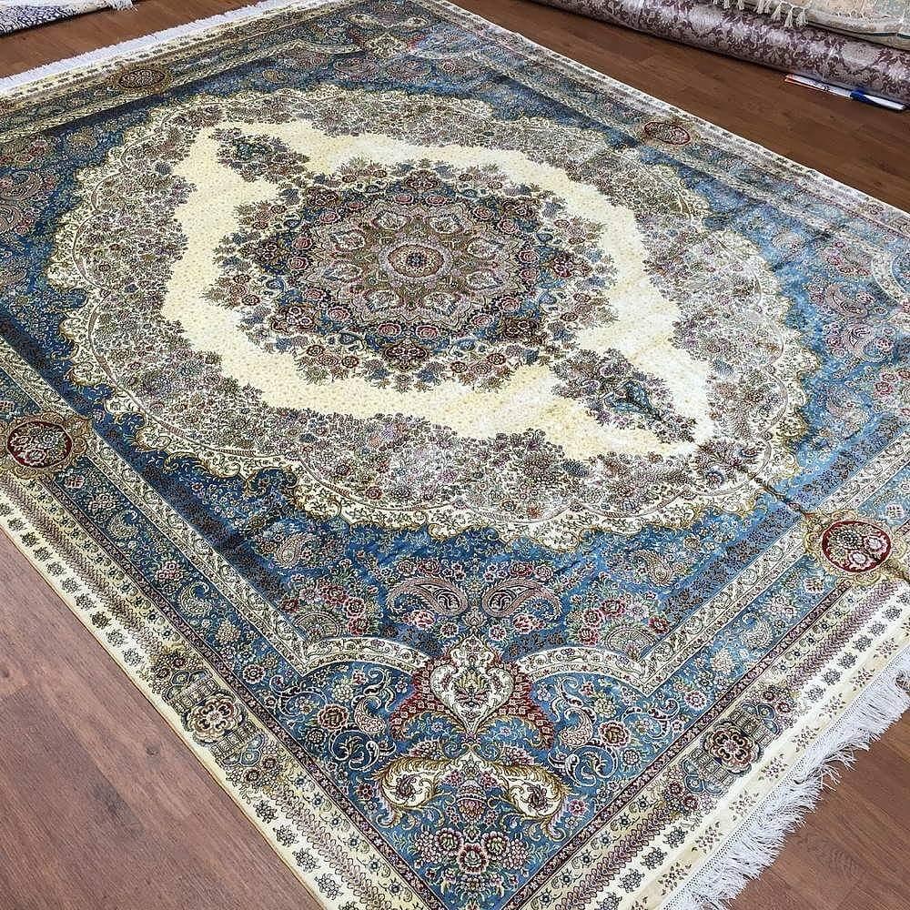 Silk carpet шелковый ковер silke teppe silke matta ipek