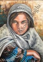 60*80 Afganlı Kız