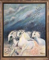 Koşan Atlar 70*100