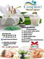 Caspian Hamam Spa Wellness de İndirimli Gümüş  Spa Programı