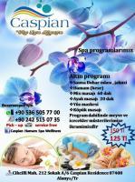 Caspian Hamam Spa Wellness de İndirimli Altın Spa Programı