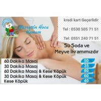 Alanya hamamlarında  masaj fiyatları