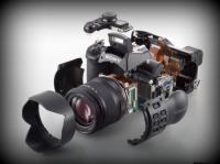 Profesyonel fotoğraf makinesi parçaları
