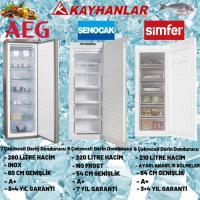 AEG,Şenocak ve Simfer 3,6 ve 7 Çekmeceli Derin Dondurucuları