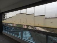Katlanır cam balkon için store perde