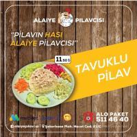Alanya'nın Yeni lezzeti Enfes Tavuklu Pilav Paket Servis